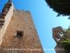 Castell de Montfalcó d'Agramunt – Ossó de Sió - A la dreta el campanar de l'església de Sant Miquel