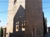 Castell de Montfalcó d'Agramunt – Ossó de Sió - A la paret hi veiem la sombra del campanar de l'església de  Sant Miquel