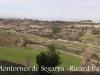 Vistes des de les restes del castell de Montornès de Segarra.
