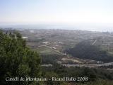 Vistes des del Castell de Montpalau.