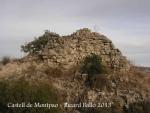 Restes del Castell de Montpaó – Ribera d'Ondara