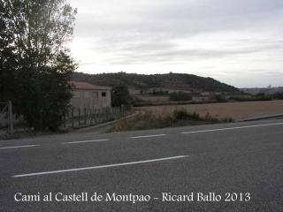 Castell de Montpaó – Ribera d'Ondara - Inici itinerari.