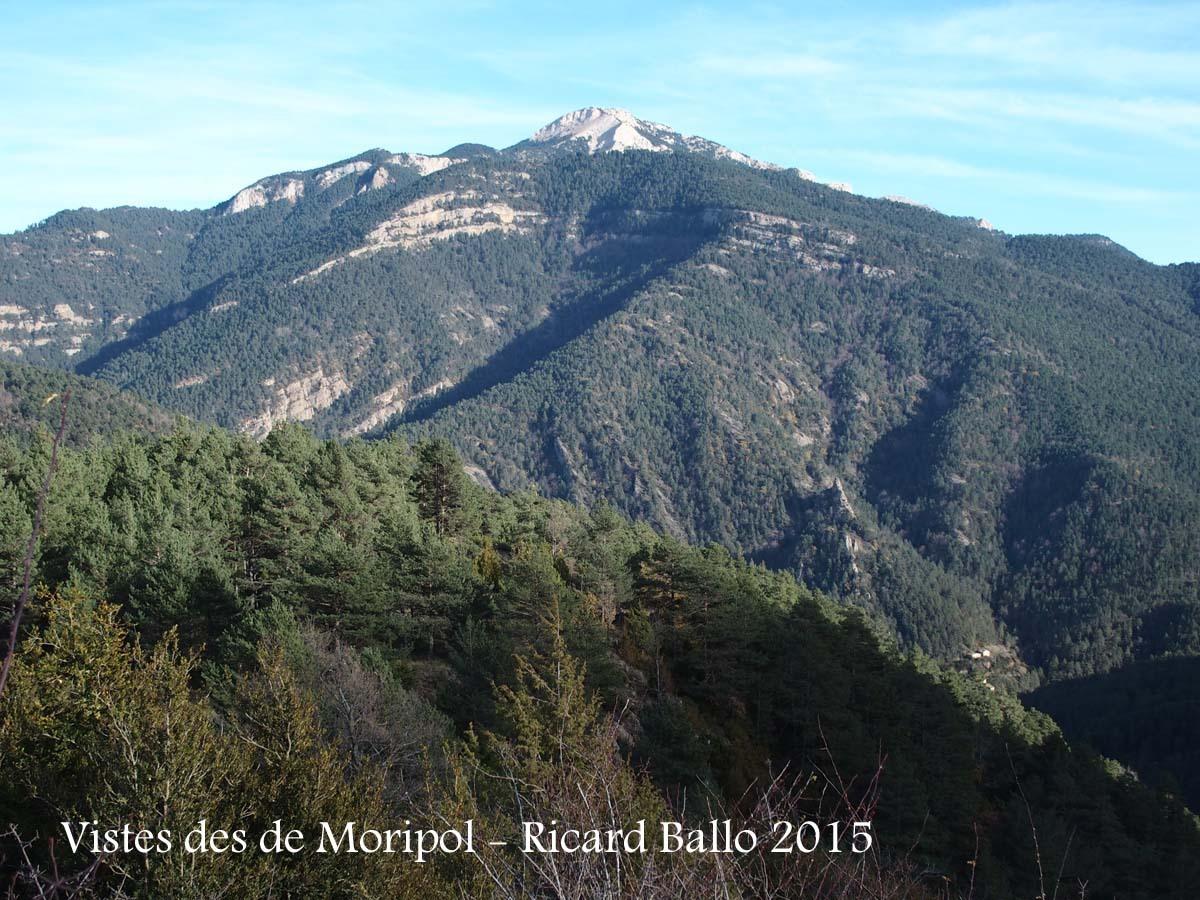 Vistes des del Castell de Moripol – Gósol