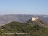 Castell de Mur des del camí d\'accés a la Casa forta de Miravet.