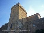Muralles de Tarragona - Castell de Paborde - Torre de l'arquebisbe.
