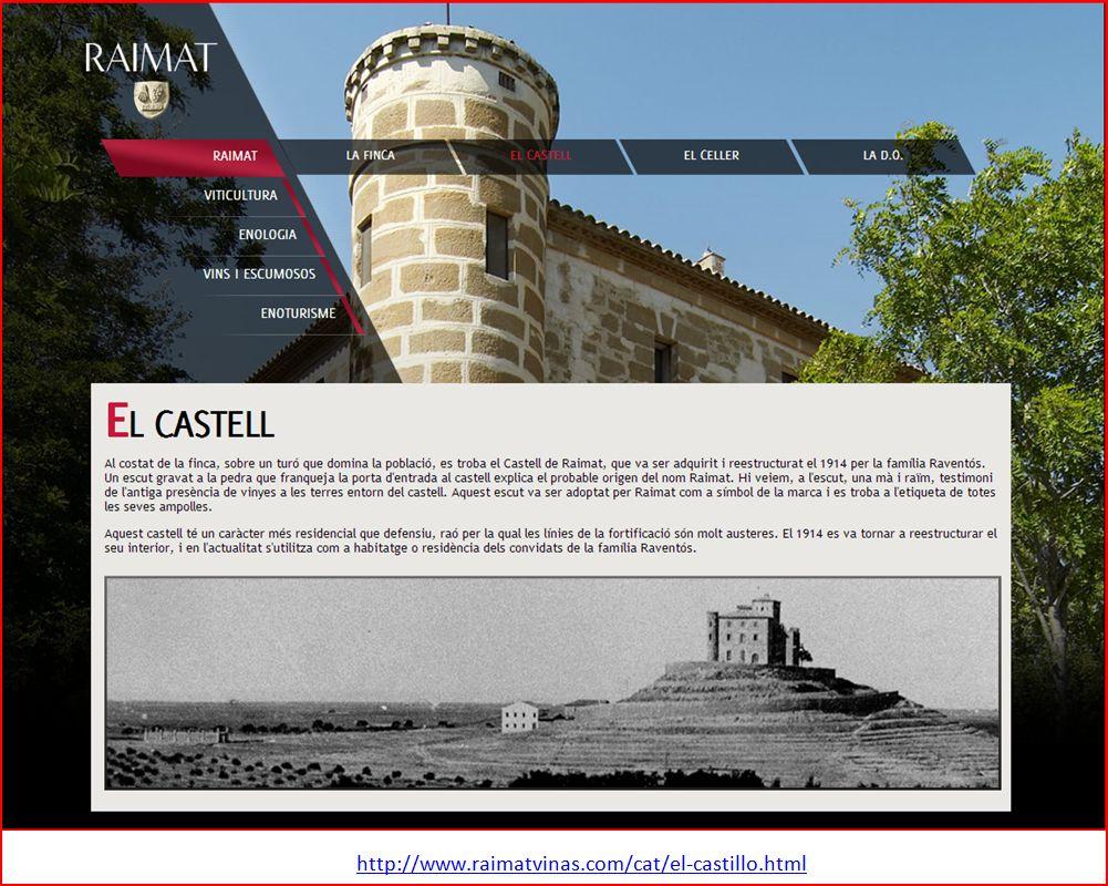 Castell de Raïmat - web-corporativa.
