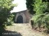 Castell de Rajadell - Porta d'entrada principal