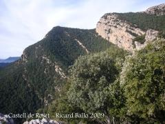 Vistes des del castell de Roset