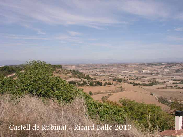 Vistes des del Castell de Rubinat – Ribera d'Ondara