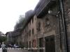 Rupit - Aquestes cases, edificades sota mateix del castell  es troben al carrer Coll de Castell