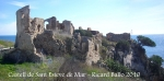 Castell de Sant Esteve de Mar.
