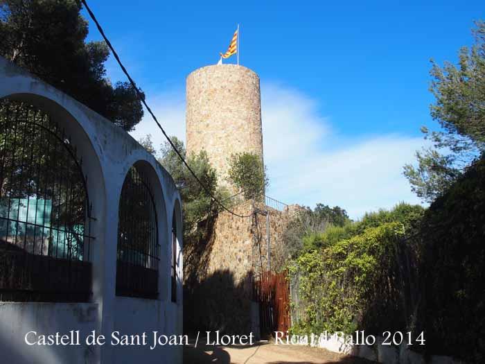 Castell de Sant JOan - Lloret de Mar.