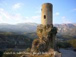 Castell de Sant Oïsme.