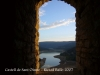 Castell de Sant Oïsme.Vistes des del castell.