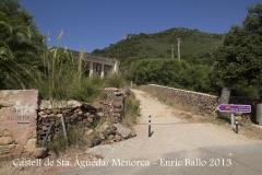 Castell de Santa Àgueda - Ferreries / Menorca - Inici itinerari.