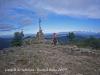 Castell de Solterra, al cim del puig de Sant Miquel de Solterra, el més alt de les Guilleries, a 1204 metres d'altitud.
