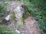 Camí d'accés al castell de Solterra - Font Sa Guarda