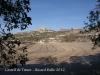 Castell de Timor - Vista general, entorn. A la dreta de la fotografia, l\'església de Sant Jaume.