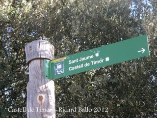Camí al castell de Timor