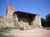 Castell de Tudela - Capella de Sant Grau.