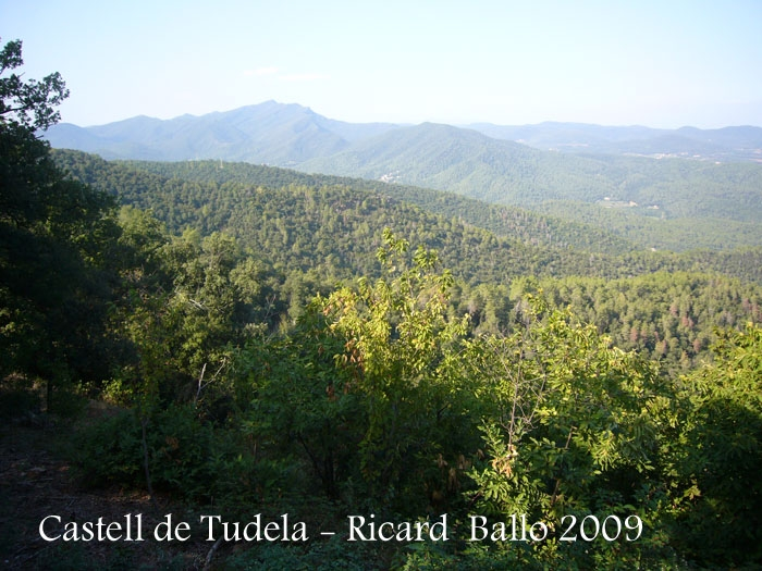 Vistes des del Castell de Tudela.