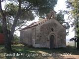 Castell de Vilagelans: Capella de Santa Fe.