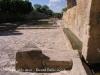 Vilalba dels Arcs - Safaretjos. - Interessant la mida i la qualitat dels carreus que apareixen a la paret de la dreta d'aquesta fotografia: Quelcom a veure amb l'època romana (?).