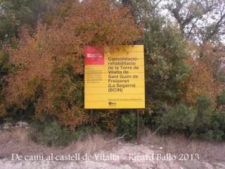 Castell de Vilalta – Sant Guim de Freixenet