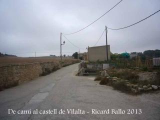 Castell de Vilalta – Sant Guim de Freixenet - Inici itinerari, des de la Tallada.