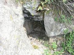 Castell del Montmell: Camí d'accés: Bufador.