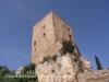 """Castell del Papiol.Tot i que aquesta edificació no queda gaire afortunada en aquesta \""""pose\"""",  cal acceptar que si es fotografia des d\'aquesta perspectiva, la veurem així."""