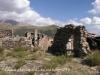 Castell d'Erillcastell - A destacar el paviment, format per lloses