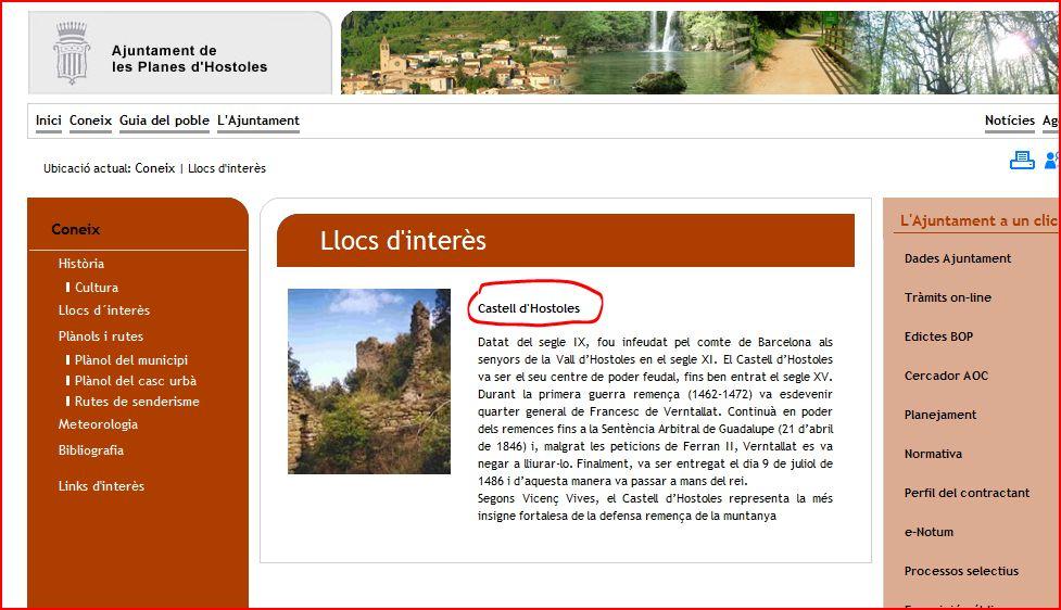 les-planes-dhostoles-castell-dhostoles-ajuntament