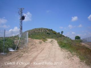 Castell d'Ofegat - Camí d'accés a peu.