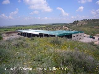 Castell d'Ofegat - Planta de compostatge.