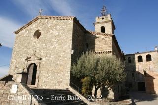 Església parroquial de Santa Maria d'Oló.