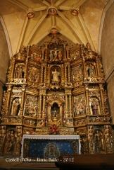 Retaule de l'església parroquial de Santa Maria d'Oló.