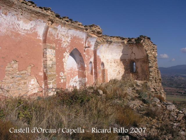 Castell d'Orcau - Capella del castell