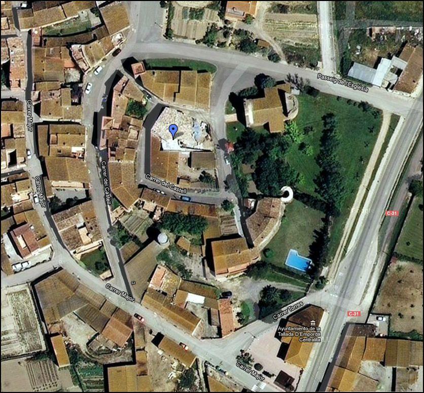 castell-i-muralles-de-la-tallada-google-maps