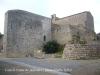 Castell-palau de Bellcaire: església parroquial.