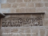 Catedral de Tarragona - Encastat en el mur sobre la porta de la dreta es conserva el sarcòfag de Bethesda, paleocristià del segle IV, representant escenes de la vida de Jesús