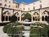 Catedral de Tarragona - Vista parcial del pati del claustre