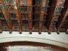 Catedral de Tarragona - Detall de l'enteixinat del sostre de la sala del Tresor