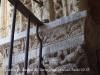 Claustre de la Catedral de Tarragona - Llegenda - Enterrament del gat per les rates - Detall