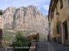 Vistes de la muntanya de Montserrat, des de Collbató.