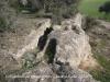 Montcortès - Columbari romà - tombes antropomorfes.