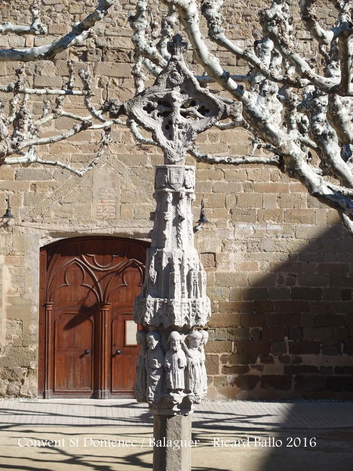 Convent de Sant Domènec – Balaguer - Creu de terme