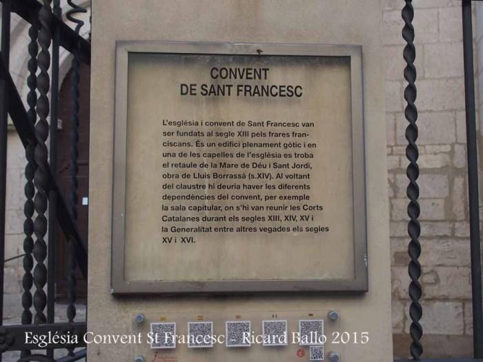 Convent de Sant Francesc – Vilafranca del Penedès