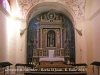 Convent de Sant Salvador - Horta de Sant Joan - Interior església.