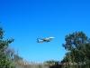 Avions sobrevolant el Delta del Llobregat